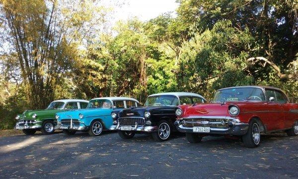 Autorondrit Havana met gids