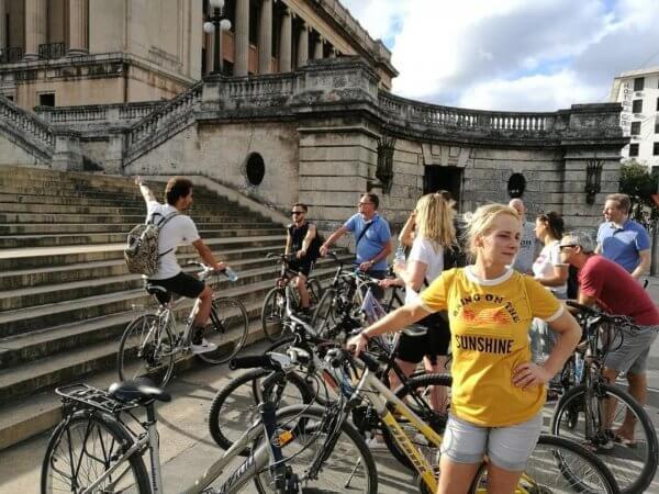 Rondleiding met fiets en gids Havana